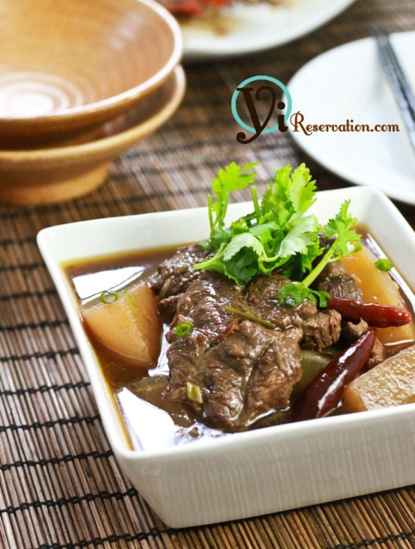 szechuan spicy beef stew recipe
