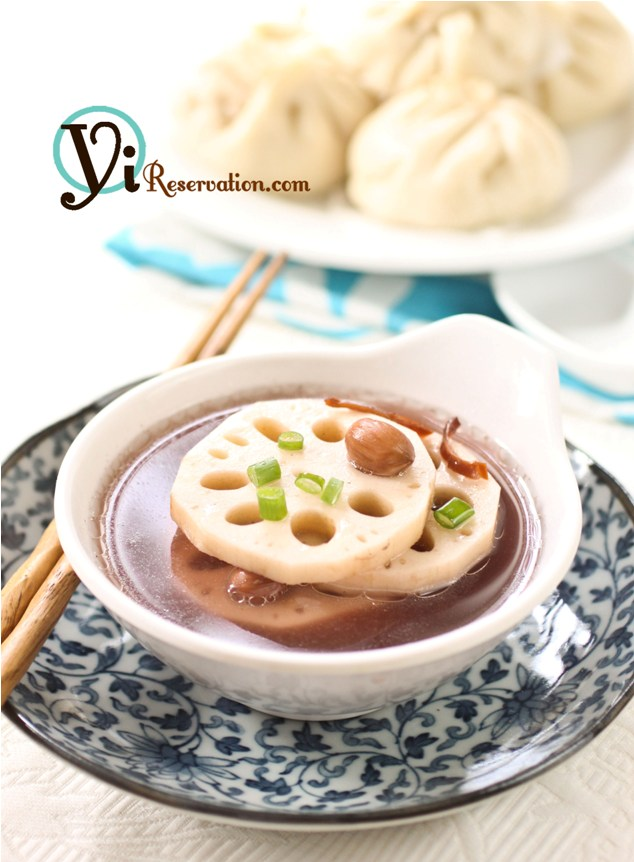 peanut lotus roots soup recipe